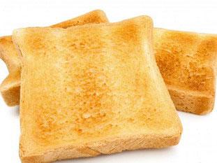 slices thin toast