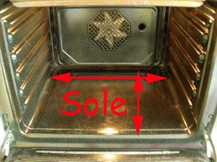 Oven floor or sole
