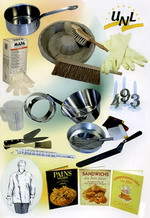 Utensils for bakers