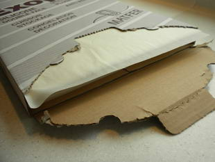parchment paper in sheets