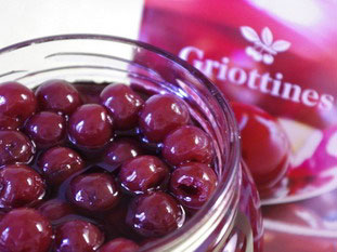 Griottine cherries