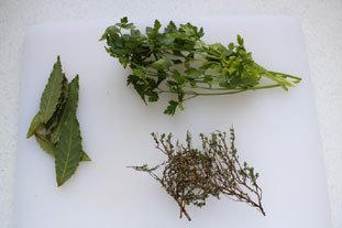 Bouquet garni : Photo of step #1