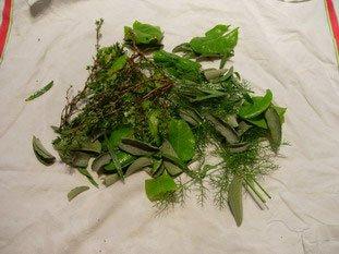Herb salad : Photo of step #2