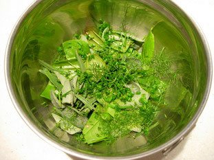 Herb salad : Photo of step #3