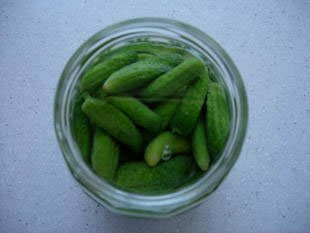 Pickled gherkins : Photo of step #10