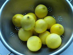 Preserved lemons : Photo of step #1