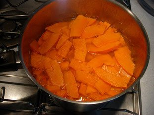Potimarron (Japanese chestnut pumpkin) purée : Photo of step #3