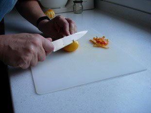 Citrus crunch : Photo of step #1