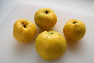 Quince compote : Photo of step #1