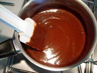 Chocolate ganache : Photo of step #3