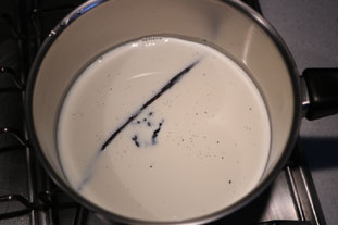 Real custard sauce (crème anglaise) : Photo of step #1