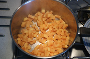 Quince and apple compote : Photo of step #4