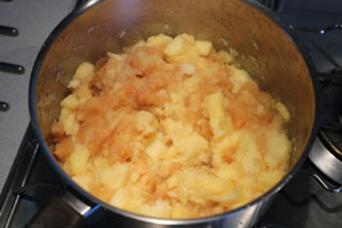 Quince and apple compote : Photo of step #7