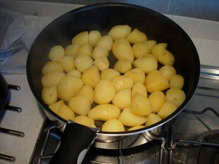 Pan-fried potatoes : Photo of step #4