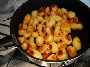 Pan-fried potatoes : Photo of step #6