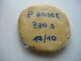 Shortcrust pastry (pâte brisée)