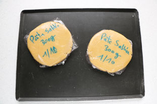 Sweetcrust pastry (pâte sablée) : Photo of step #9