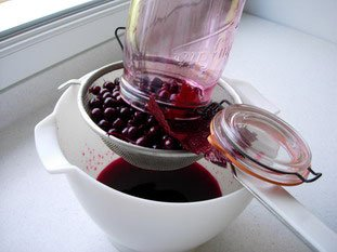 Blackcurrant liqueur : Photo of step #7