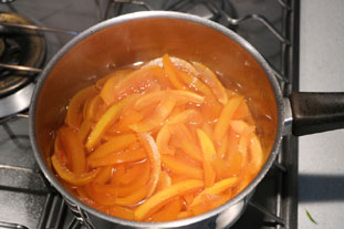 Candied grapefruit peel : Photo of step #6