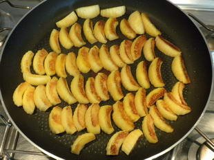 Warm apple feuillantines : Photo of step #3