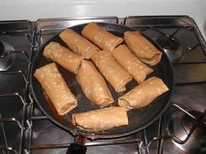 Sweet pancake rolls from Brittany : Photo of step #13
