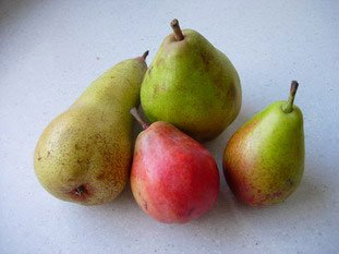 4 pears salad with vanilla : Photo of step #1