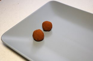 Chocolate Truffles : Photo of step #9