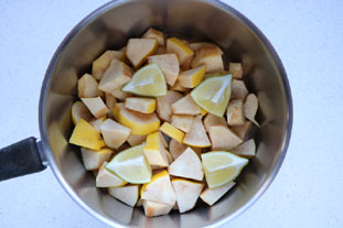 Quince paste : Photo of step #2