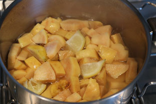 Quince paste : Photo of step #3