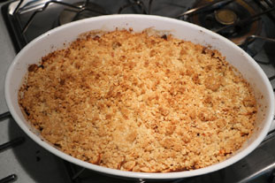 Canadian apple crumble : Photo of step #10