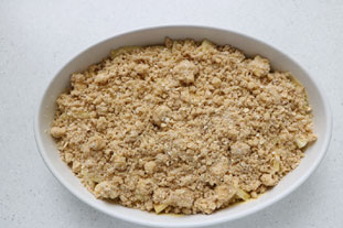 Canadian apple crumble : Photo of step #9