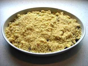 Fruit crumble : Photo of step #6
