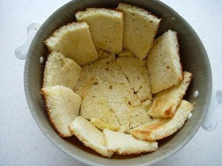 Apple charlotte with toasted brioche : Photo of step #9