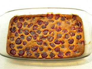 Cherry clafoutis : Photo of step #7