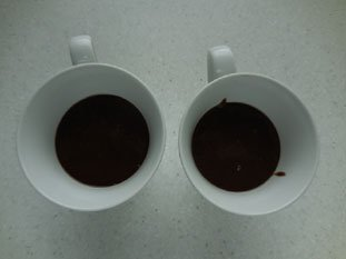 Chocolate mug cake : Photo of step #7
