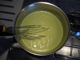 Pistachio custard tart : Photo of step #12
