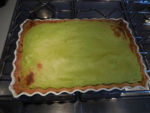 Pistachio custard tart : Photo of step #14