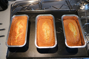 Lemon and lime cakes : Photo of step #9