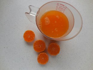 Clementine sorbet : Photo of step #3