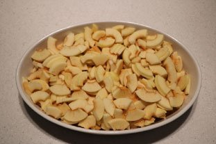 Apple and almond gratin : Photo of step #7