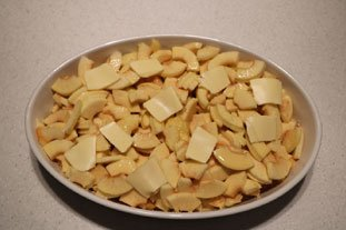 Apple and almond gratin : Photo of step #8