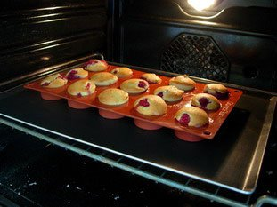 Raspberry muffins : Photo of step #7