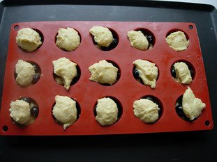 Blackcurrant-almond muffins : Photo of step #4