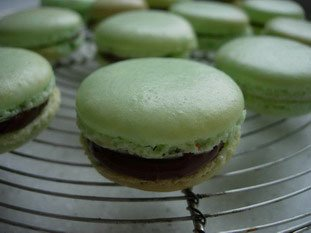 Macarons (the original French macaroons)  : Photo of step #26