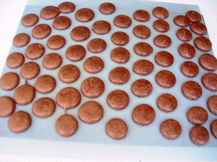 Macarons (the original French macaroons)  : Photo of step #17