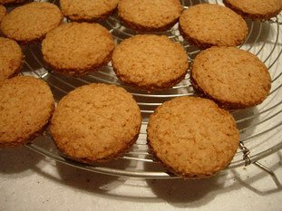 Oat shortbread biscuits