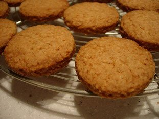 Oat shortbread biscuits : Photo of step #6