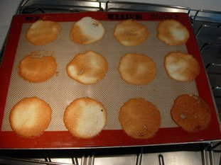 Coconut tuiles : Photo of step #11