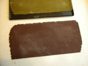 Chocolate and matcha tea biscuits : Photo of step #7