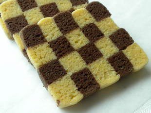 Checkerboard biscuits